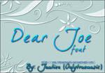 DearJoe