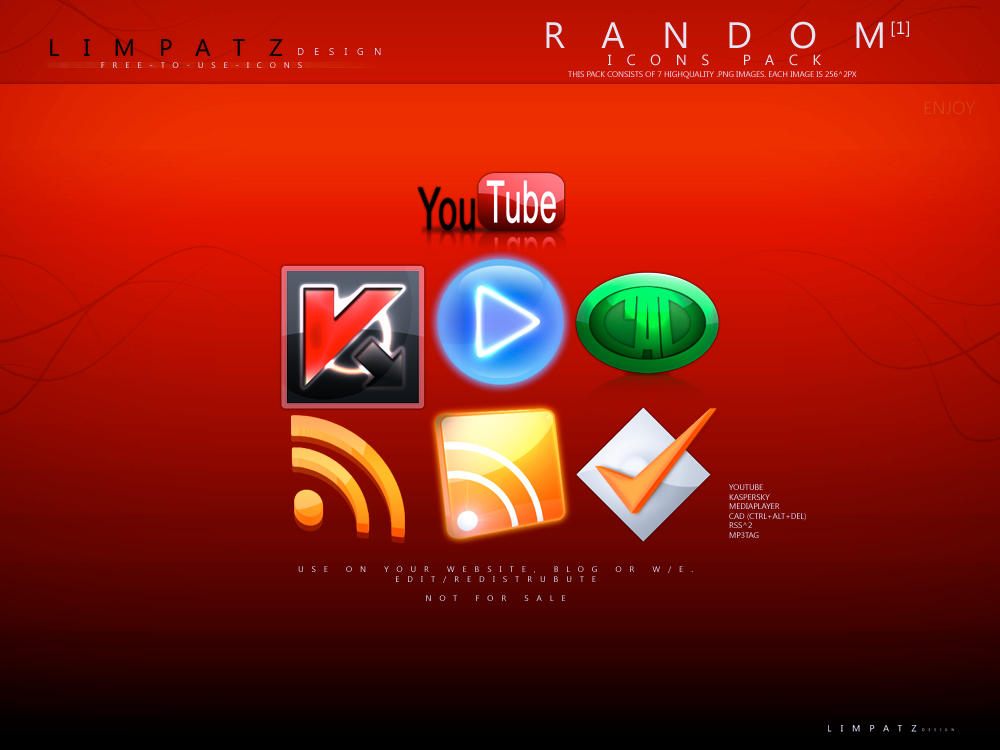 Random Icons Pack 1 by LimpatZ
