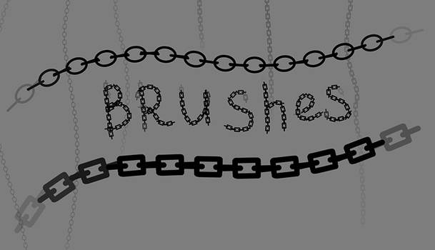 Free Photoshop Brushes - Chains