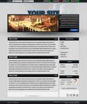 Blue/Gray Website PSd