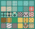 30 Seamless Knit Patterns/Textures