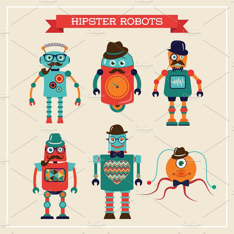 12 Free Robot icons by HelgaHelgy