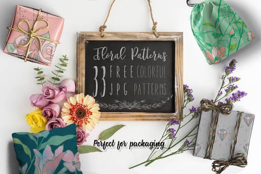 30+ FREE Floral Patterns