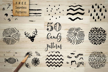 50 FREE HANDY PATTERNS by HelgaHelgy