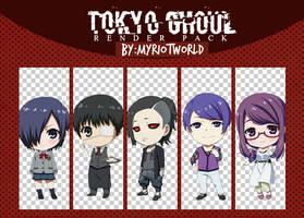 Render Pack Tokyo ghoul by MyRiotWorld