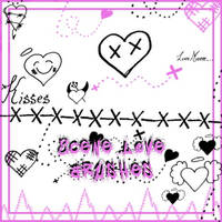 Scene Love Hearts by Red--Roses
