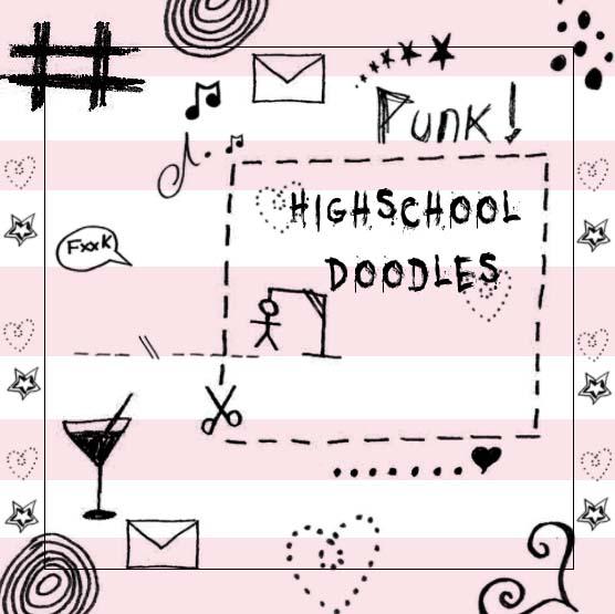Highschool Doodles Brush Set