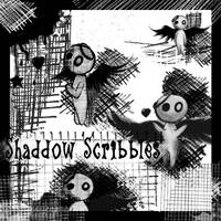 Shaddow Scribbles by Red--Roses