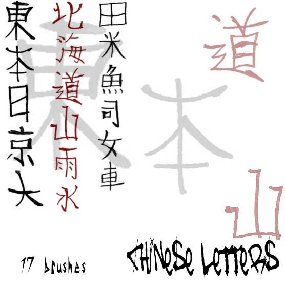 Chinese Alphabet by Red--Roses