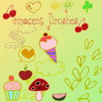 Innocent Brushes by Red--Roses