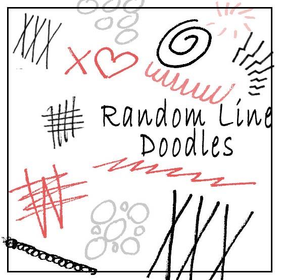 Random Line doodles