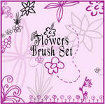 Flowers Brush Set