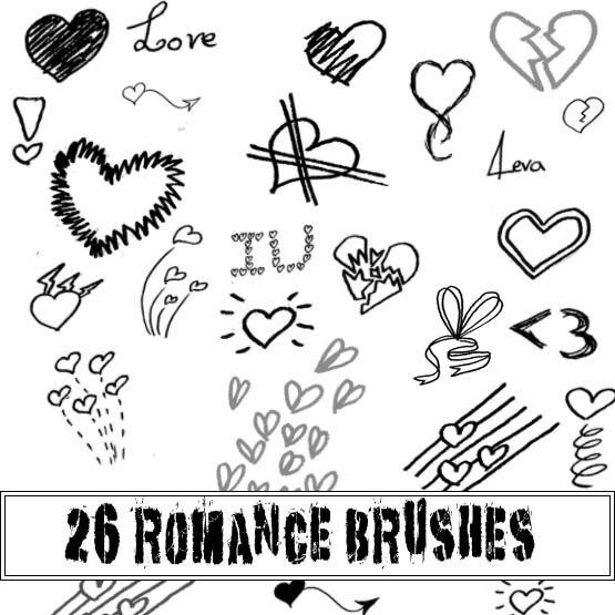 Romance brushes