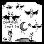 Dark Angel Brush Set II