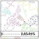 Dashed Brushes