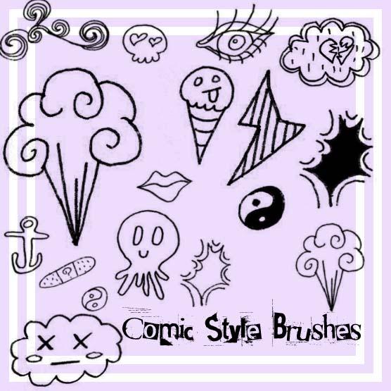 Comic Style Brushes