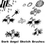 Dark Angel Sketch Brushes