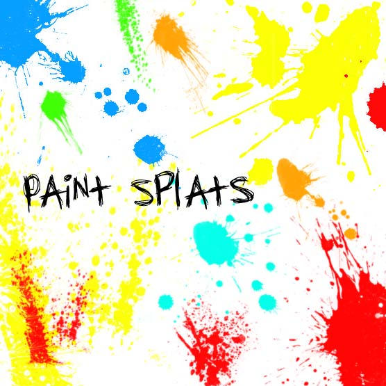 Splatter Paint by Red--Roses