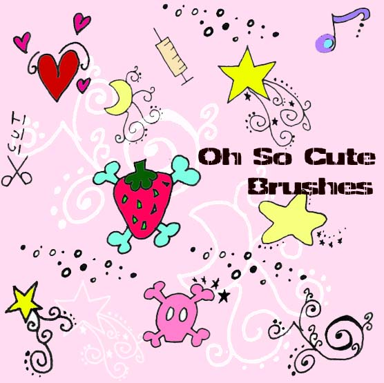 Oh So Cute brushes