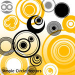Simple Circles Vectors