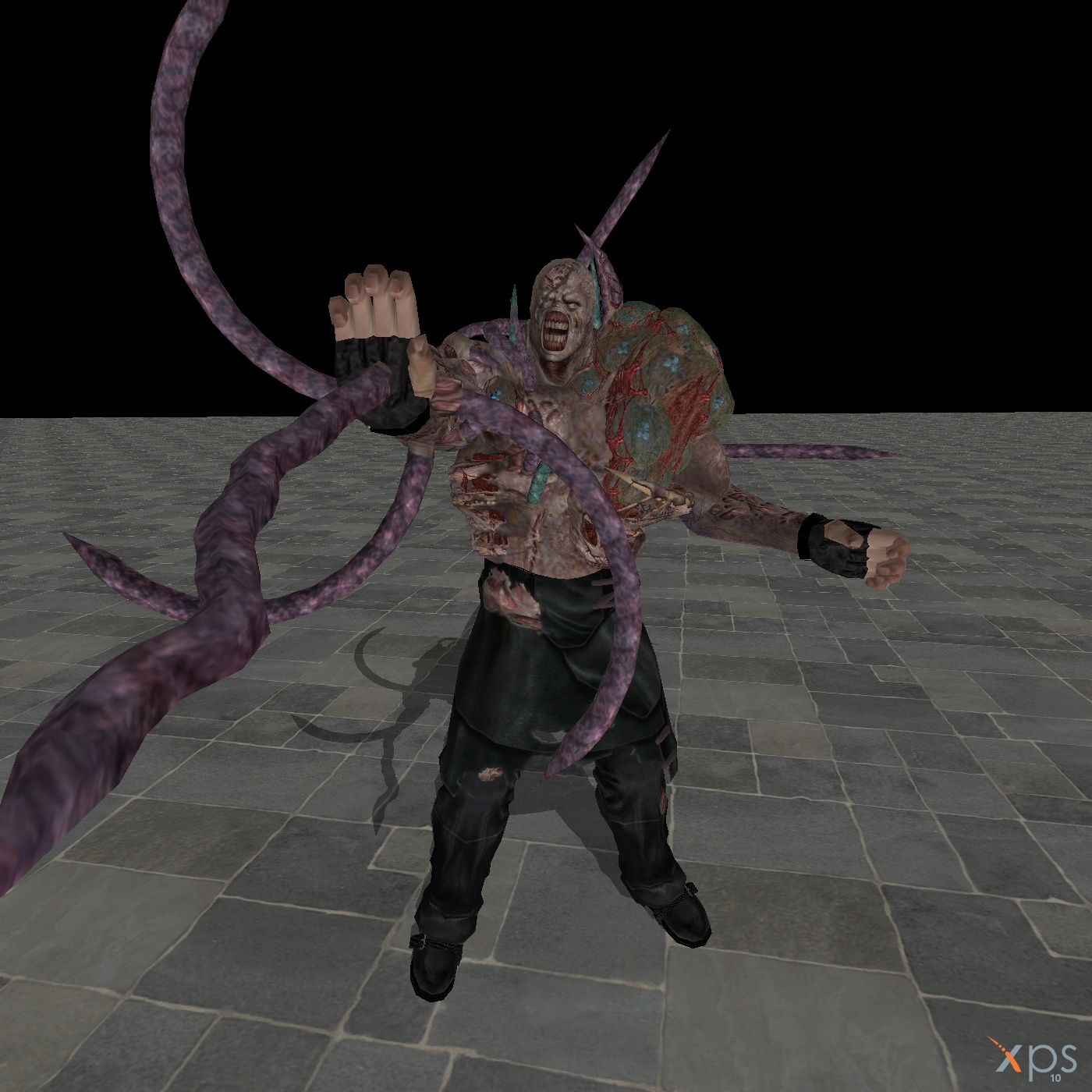 resident evil 3 nemesis second form