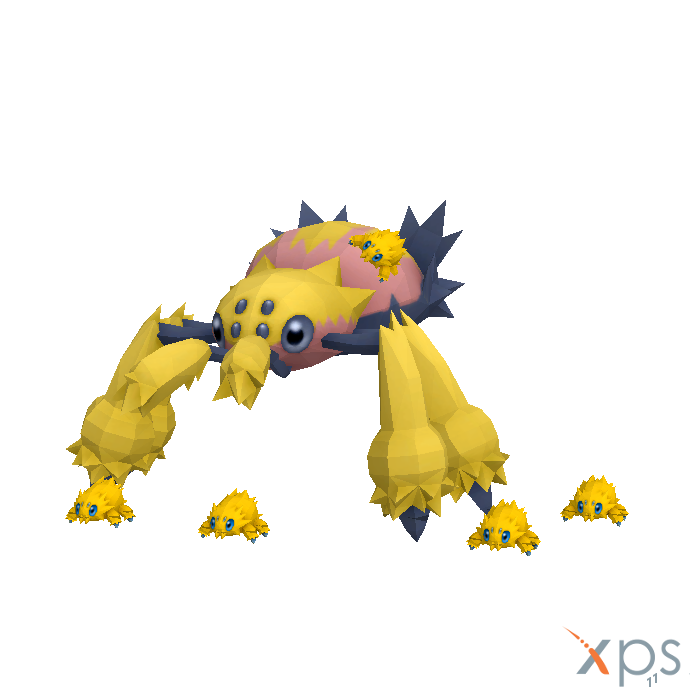 Joltik And Galvantula for XPS