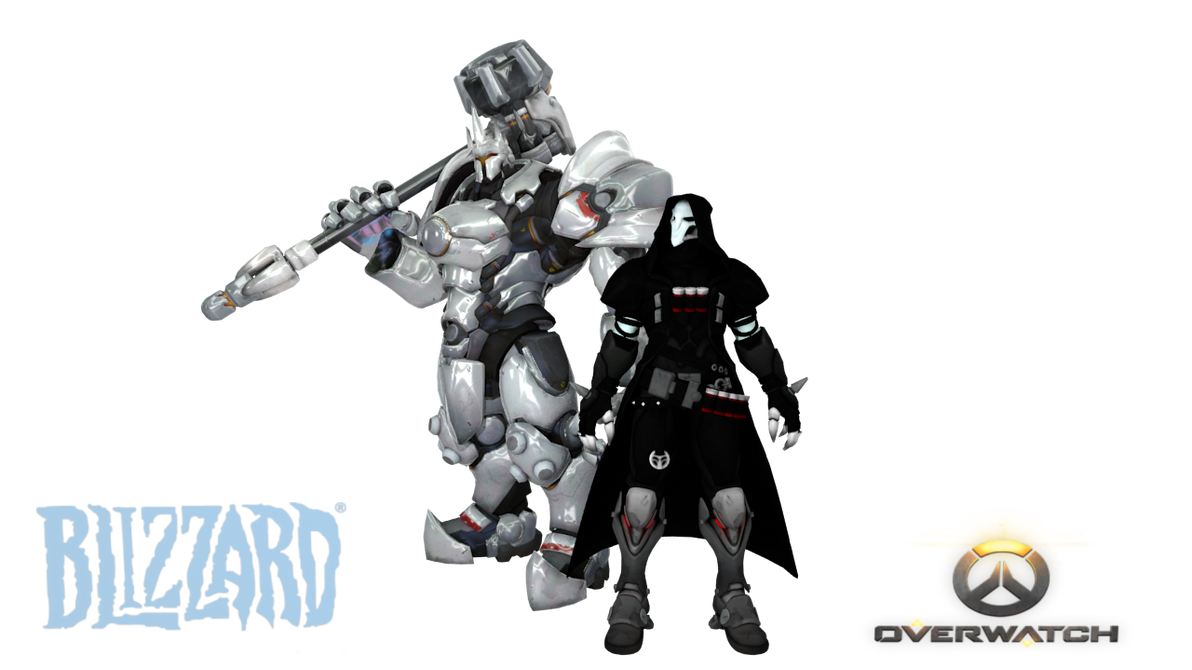 Overwatch: Reinhardt and Reaper for XNAlara by RPGxplay