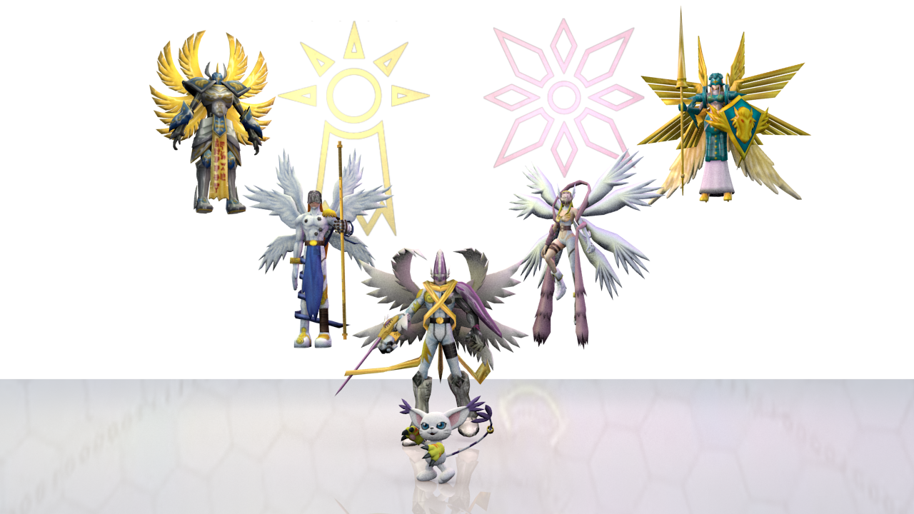 Digimon pack 3 - Hope and Light for XNAlara by RPGxplay