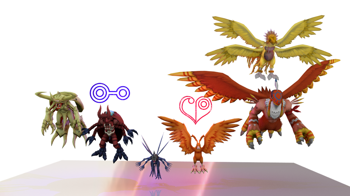 Digimon Pack 7 - Love And Knowledge for XNAlara by RPGxplay