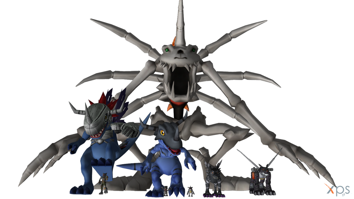 Digimon Pack 12 for XNAlara by RPGxplay