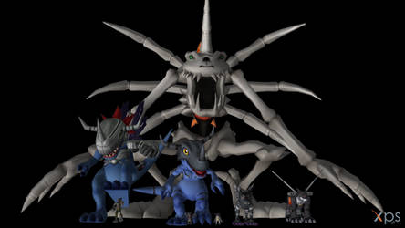 Digimon Pack 12 for XNAlara by GiantBeltway