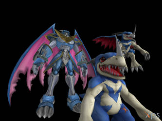 Digimon Pack 14 for XNAlara by GiantBeltway
