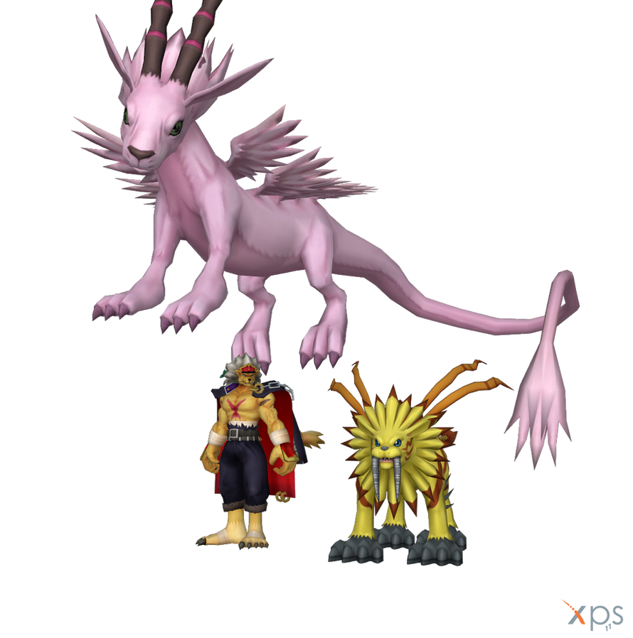 Digimon Pack 16 for XNAlara by RPGxplay