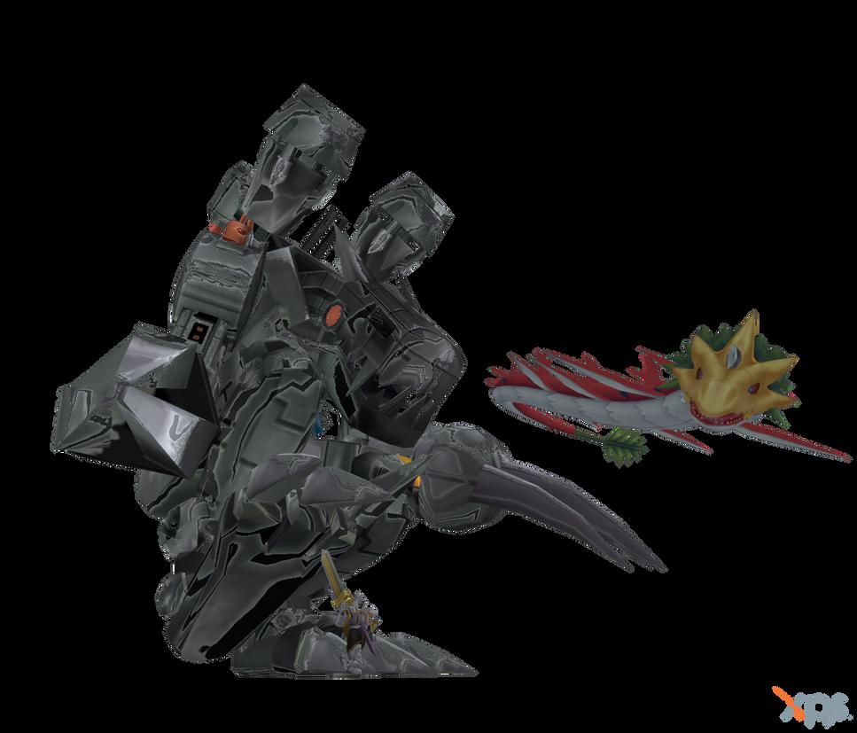 Digimon Pack 18 for XNAlara by RPGxplay