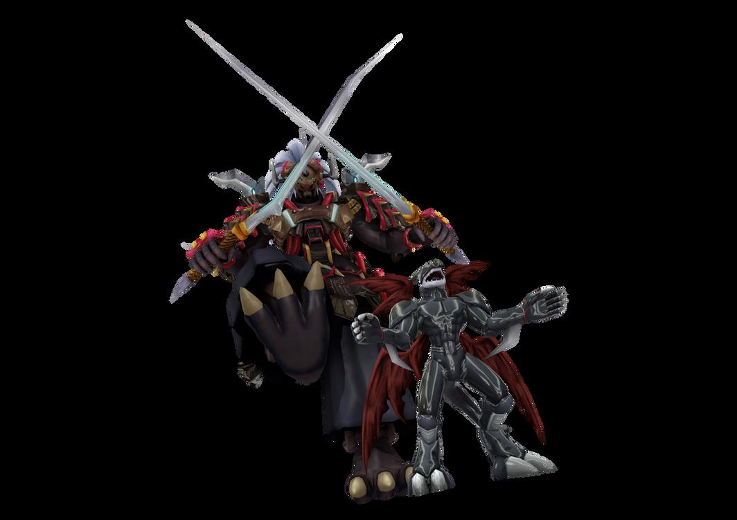 Digimon Pack 20 for XNAlara by RPGxplay