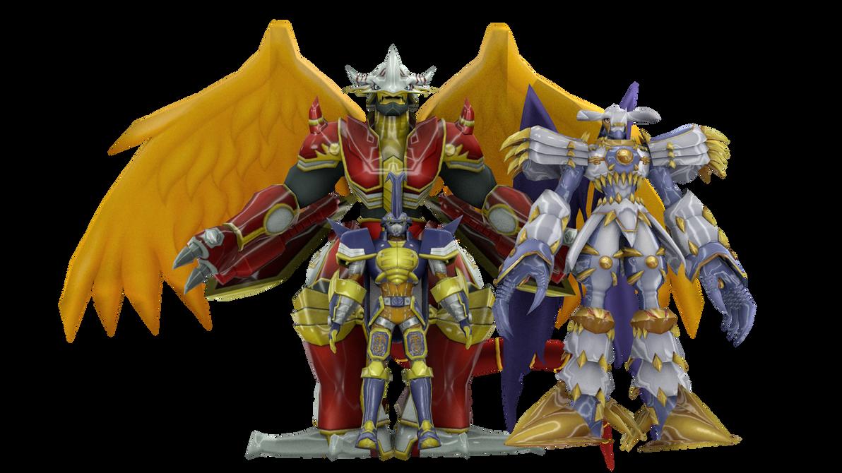 Digimon Pack 22 for XNAlara by RPGxplay