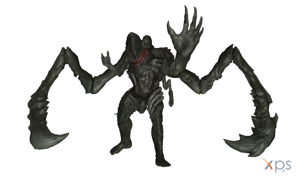SuperParasite Tyrant for xnalara by RPGxplay