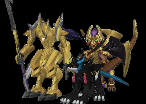 Digimon Pack EX14 - Request batch 4