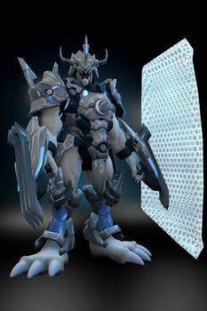 Digimon C - GreatWarGreyMon