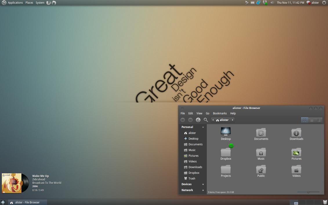 Elegant GNOME Pack v 1.0 by a-r-o-b-a-s-e
