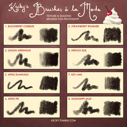 Kecky's Brushes a la Mode by Kecky