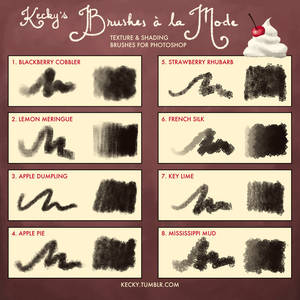 Kecky's Brushes a la Mode