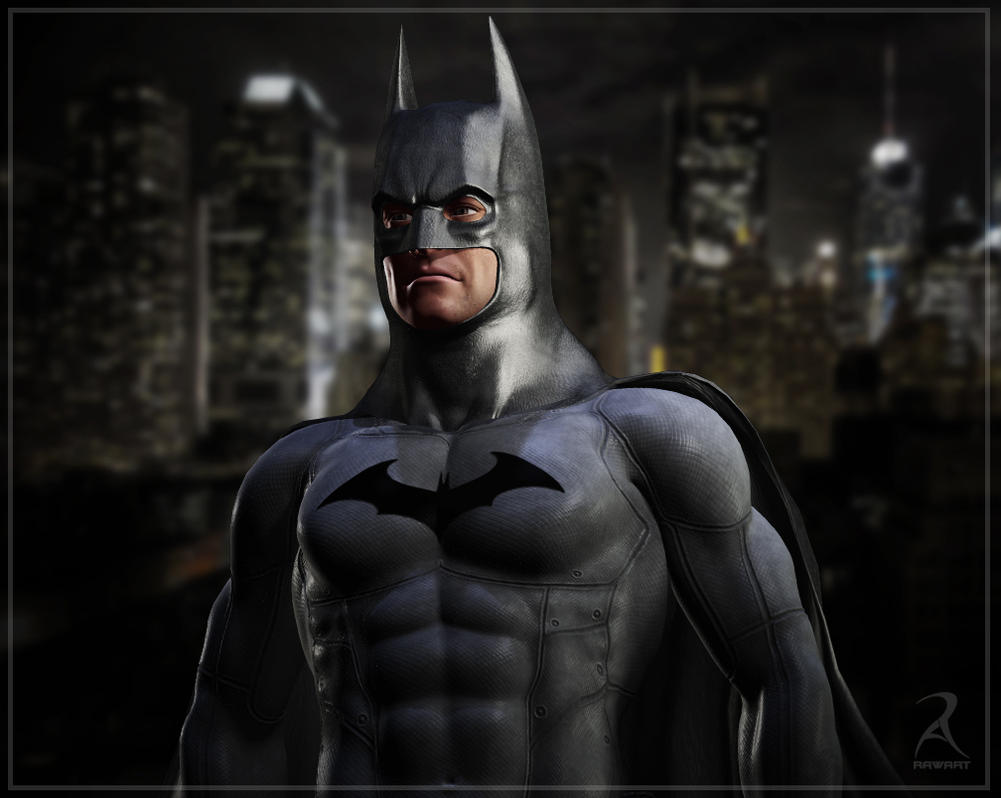 Arkham_Bat_Suit by RawArt3d