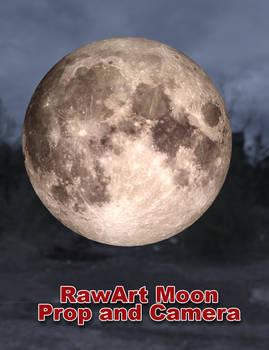 Iray Moon Prop and Camera (for DAZ Studio)
