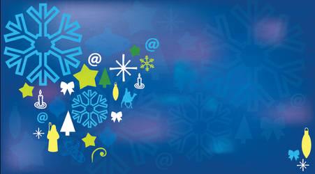 Free Christmass Postal Art