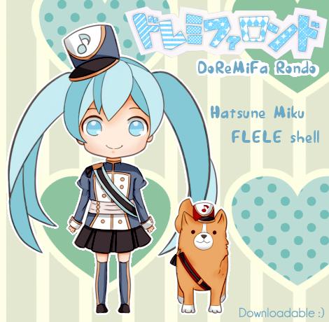 FLELE - Hatsune Miku: DoReMiFa Rondo by Kururu245