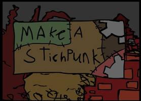 make a stich punk by herio