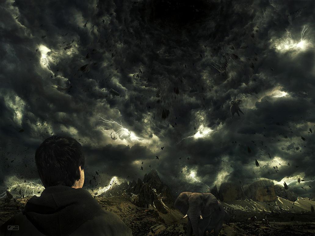 Black Summer Rain by ErikShoemaker