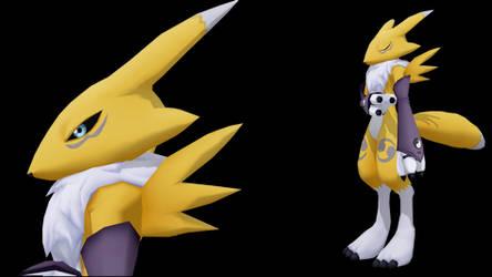 (MMD/Digimon) - Renamon Model DL