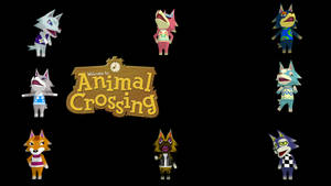 (MMD) Animal Crossing - Wolf Pack DL by Tundraviolet